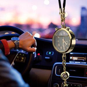 차량용 룸미러 시계 방향제 Ver2