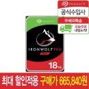 Ironwolf PRO 18TB NAS HDD ST18000NE000 공식수입사