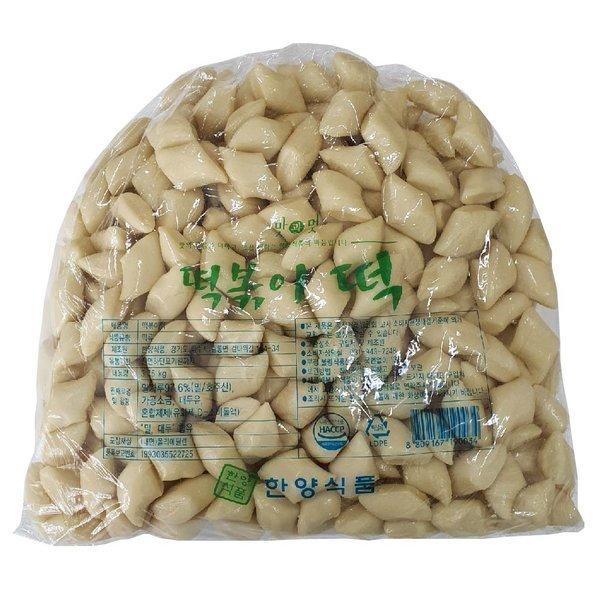 한양식품 밀깍뚜기떡 3.75kg/밀떡볶이 밀떡 떡볶이떡