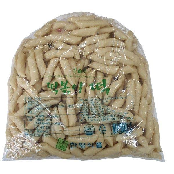한양식품 밀떡볶이떡(밀대) 3.75kg/밀떡볶이 밀떡