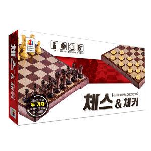체스앤체커 한글판 보드게임