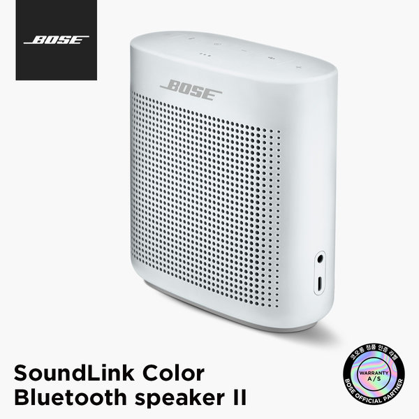 BOSE 정품 SoundLink Color 2 화이트 블루투스 스피커