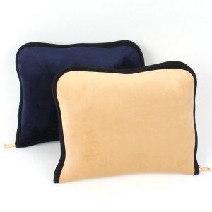 무릎담요 파우치 중형 모포 쿠션 담요가방 자수 인쇄