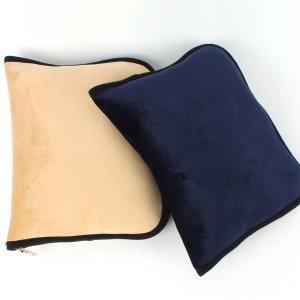 무릎담요 파우치 대형 모포 쿠션 담요가방 자수 인쇄