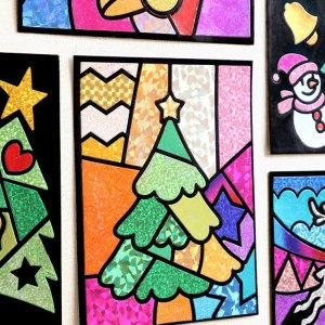 크리스마스 포일아트 - 루돌프 / 어린이 초등
