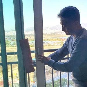 밀땡 클리너 유리청소 닦이 바깥 창문 세차 타월