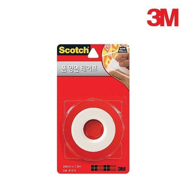 3M 폼 양면 접착 테이프 보급형 24mm