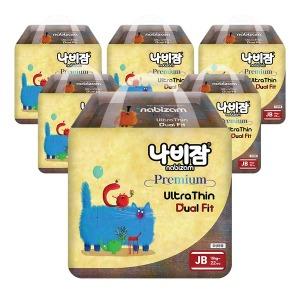 울트라씬듀얼핏 팬티 점보형 6팩
