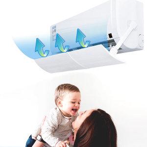 에어컨 바람막이 벽걸이 에어콘 풍향조절 냉온풍기겸용