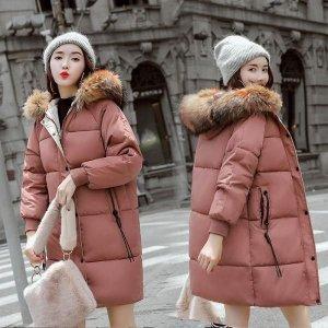 여자 패딩 점퍼 집업 아우터 파카 오버핏 겨울 XB77