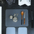 실리콘 드라잉매트 식기건조 주방매트(대형)