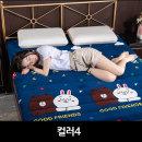 벨벳재질 양털 매트리스쿠션 토퍼 매트90X200컬러4