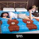 벨벳재질 양털 매트리스쿠션 토퍼 매트90X200컬러5