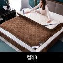 벨벳재질 양털 매트리스쿠션 토퍼 매트120X200컬러3