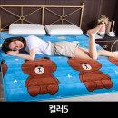 벨벳재질 양털 매트리스쿠션 토퍼 매트120X200컬러5