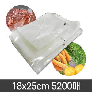 진공팩 업소용진공포장지 0.07x18x25-1박스(5200매)