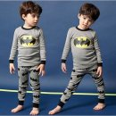 신상 가을 겨울 배트맨 어린이 내복 홈웨어SM2