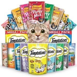 템테이션 x5개 파티믹스 그리니즈 고양이간식