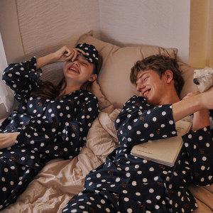신혼부부 커플잠옷 파자마 여름잠옷 반팔잠옷 실크잠