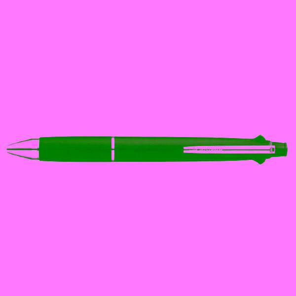 (현대Hmall) 124891 제트스트림4색볼펜+샤프(0.7/검정바디/1자루)
