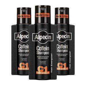 알페신 C1 블랙 에디션 카페인 샴푸 250ml x3개