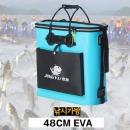 지퍼형 EVA재질 대용량 42리터 바다 낚시 가방 산림통