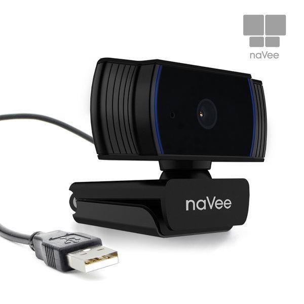 브로드캠 NV71-HD230P 오토포커스 웹캠 PC카메라