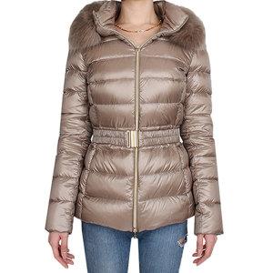 20FW CLAUDIA 여성 폭스퍼 구스다운 자켓 (베이지) PI0485DIC12017 2600/ 에르노