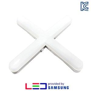 LED 형광등 십자등 SW십자등 국산 삼성칩 KC인증 60W