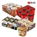 신라면+안성탕면+튀김우동+짜파게티컵(총24개)