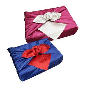 양단겹보자기 36인치 이바지 예단 실크 전통 선물용