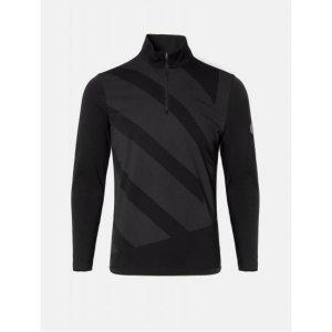 빈폴골프 남성 블랙 빅반집업 티셔츠 (BJ0941M505)