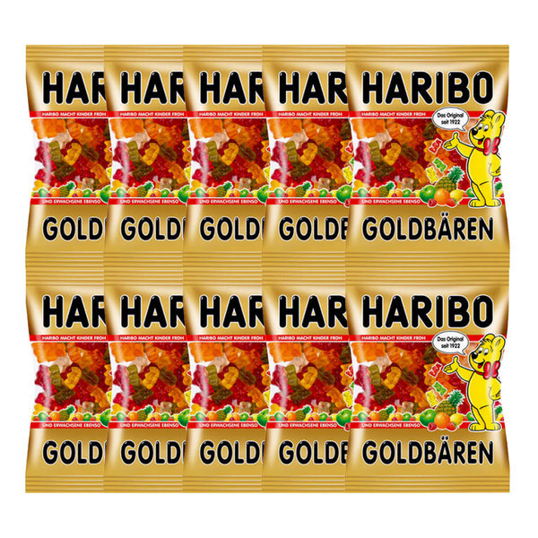 하리보 골드베렌 100g x 10 곰젤리 스타믹스 곰돌이