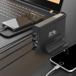 괴물충전기 PD 접지 고속 멀티충전기 QCPD150W 맥북