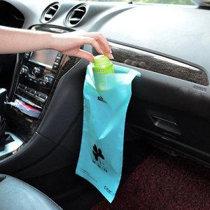 차량용 쓰레기통 자동차 휴지통 봉투 분리수거함