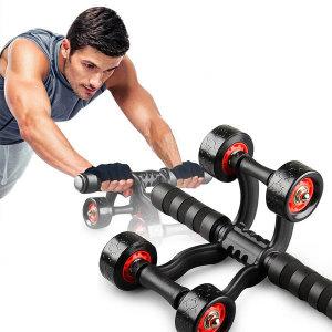 롤링AB슬라이드 코어 전신 복근운동 휠 홈트 운동기구