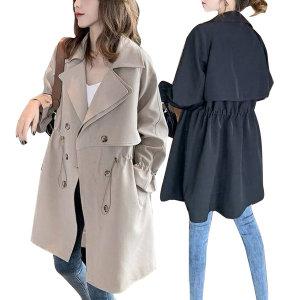 여성 트렌치코트 자켓 코트 여자 가을 봄 점퍼 가디건