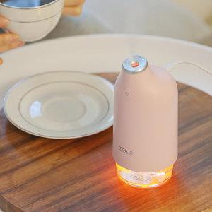 모락 리리코 가습기 MR-HM01 핑크 초음파 휴대 차량용