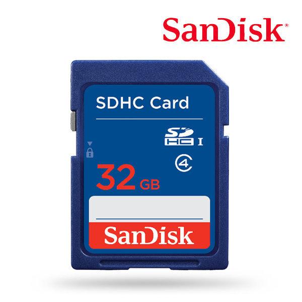 SD카드 32GB / 샌디스크 코리아 정품