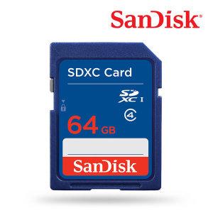 SD카드 64GB / 샌디스크 코리아 정품