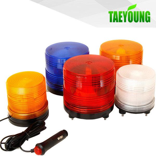 국산 TY LED 경광등 (1기능) 12V 24V 비상등