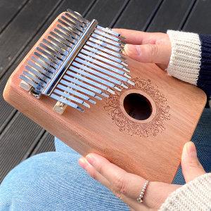 루이송 17음계 마호가니 칼림바 Kalimba 손가락피아노