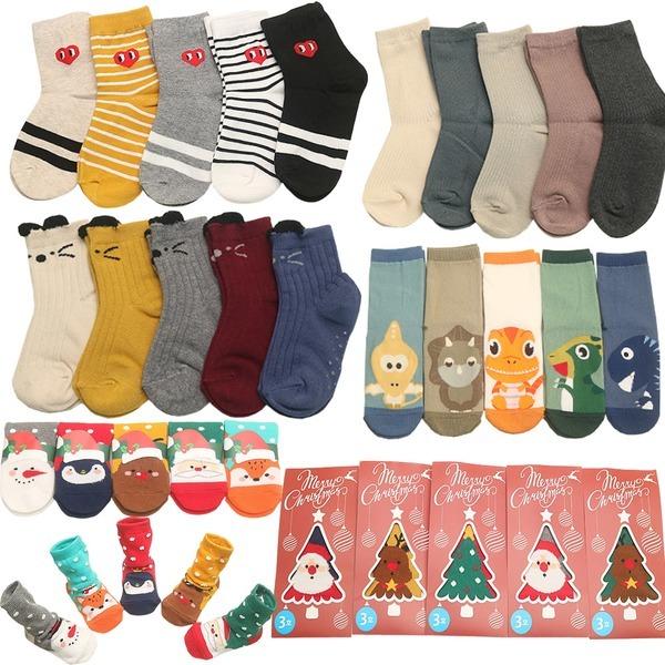 아동 양말 겨울 유아 크리스마스 어린이집 선물세트