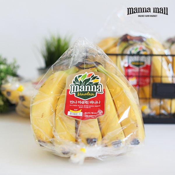 만나몰 만나 바나나 3송이 (3.6kg / 멕시코산)