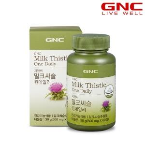 GNC  밀크씨슬 원 데일리 (60정) 30일분