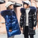 관리쉬운 어린이 키즈 겨울 오리털 롱패딩 점퍼PZ1