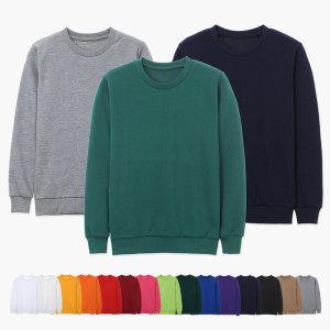남녀공용 특양면 맨투맨 티셔츠 커플티 (S-3XL 21색)