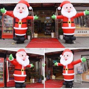 2.5M 춤추는산타 에어간판 스카이댄서 크리스마스