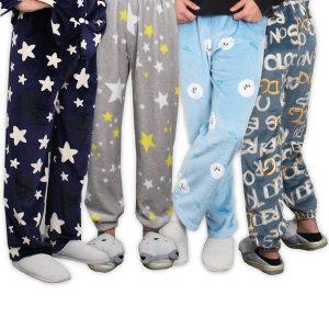 신상 남성수면바지 극세사 밍크 잠옷바지 겨울 홈웨어