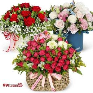 2시간 전국당일배송 꽃바구니 꽃다발 꽃배달서비스